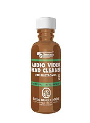 MG Chemicals Audio/Video Head Liquid Cleaner, 250 ml Bottle from MG Chemicals