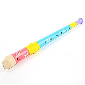 Amazoncom Free Shipping Kids Portable Long Wooden Flute Whistle