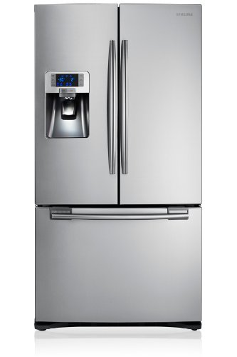 Samsung RFG23UERS – Frigorífico side-by-side (Independiente, Plata, Puerta francesa, 520 L, 630 L, SN, T)