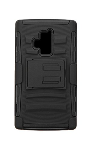 Asmyna Cell Phone Case for Coolpad 3320A (Rogue) - Retail Packaging - Black