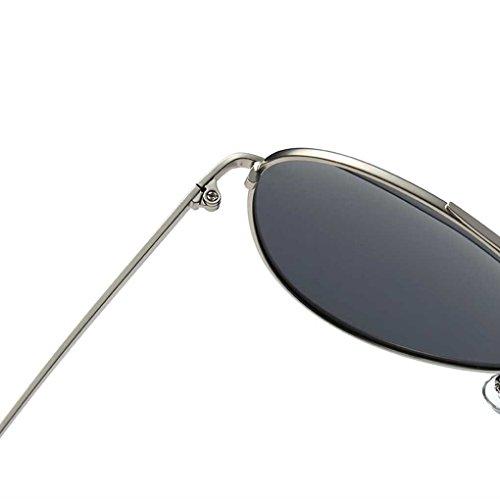 Retro de de Coolsir Señora Las Gafas polarizada Providethebest Gafas Hombres de Sunblock luz Steampunk de Gafas Marco los de 3 Moda Sol f05wxfzpq