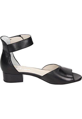 Piazza 1 Damen 910791 sandalette Schwarz Oqxf4wOB