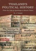 Thailand's Political History: From the Fall of Ayutthaya to Recent Times