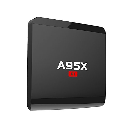 Android 7.1 TV Box Amlogic S905W Quad Core 1GB/8GB 64bit TV Box Support WiFi 2.4GHz HDMI 2.0 SPDIF H.265 4K Video 3D (Internet Tv Android)