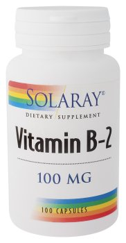 Solaray - B-2, 100 mg, 100 capsules