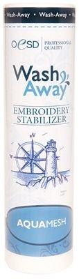 OESD Aquamesh Wash-Away Stabilizer White 15'' x 10 Yard Roll by OESD
