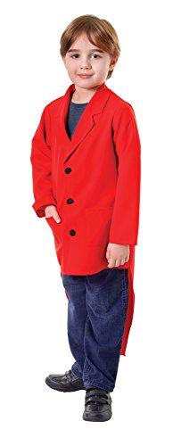 Large Red Children's Tailcoat ()