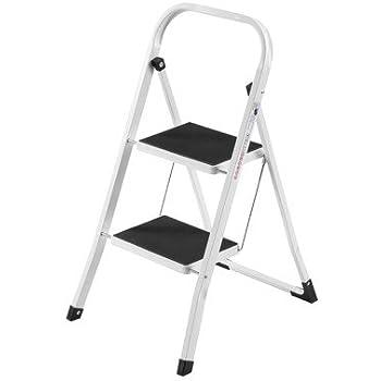 Amazon Com Vonhaus Steel Folding Compact Portable 2 Step