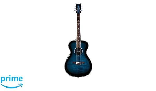 Daisy Rock DR6221-A-U Pixie A/E Guitar, Blueberry Burst: Amazon.es: Instrumentos musicales