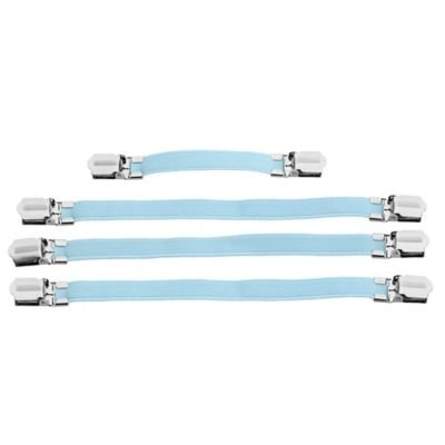Ironing Board Cover Clips to Keep Cover Flat on the Board - Pack of 4 Clips lakeland