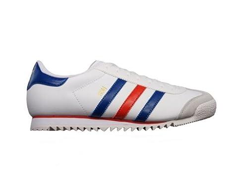 hot sale online 2fa9a c43a9 Adidas ROM Rosso Blu Bianco Scarpe per Uomo