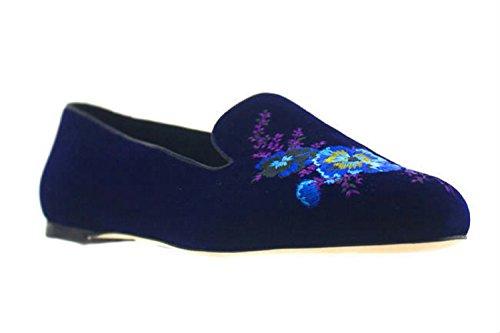 christopher-kane-blue-velvet-flat-w-embroidered-flower