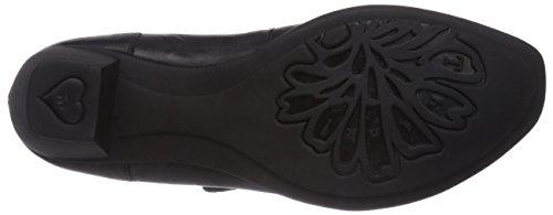 para Negro Zapatos mujer Bee Think de tacón 04SzcxU