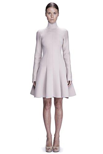 Blush Long Sleeved Neoprene Dress by Corvus + Crux