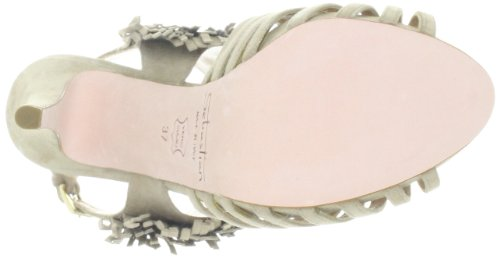 Sebastian WOMAN'S SHOE S5226 CAMBEI - Sandalias clásicas de tela para mujer Beige