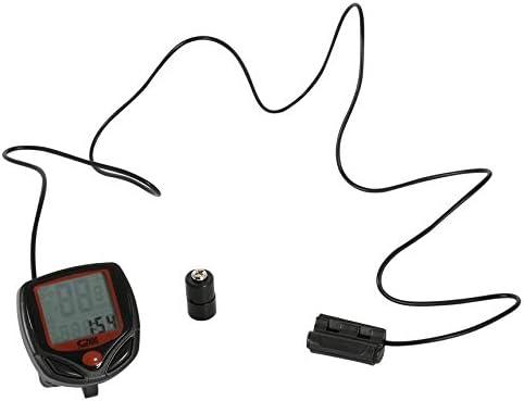 FinukGo Medidor de Bicicleta Velocímetro Bicicleta Digital LCD ...
