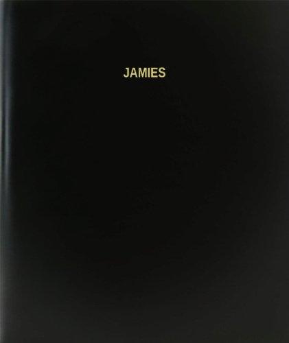 BookFactory® Jamies Log Book / Journal / Logbook - 120 Page, 8.5