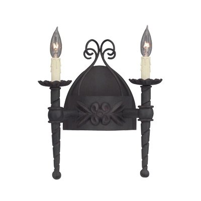 Designers Fountain 9181-NI Alhambra 2 Light Wall Sconce ()