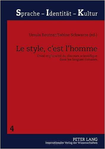 Le style, c'est l'homme: Unité et pluralité du discours