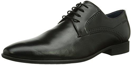 Daniel Hechter Hb38061 - Zapatos de cordones derby Hombre Schwarz 100