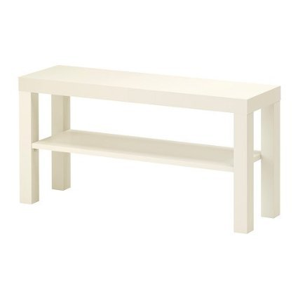 Ikea 502.432.99 Lack To Bench Stand For Plasma, Led, White