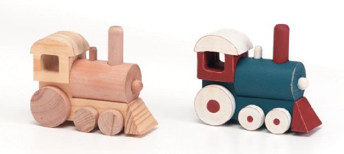 Darice 9178-07 Wooden Train Model ()