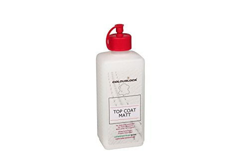 COLOURLOCK Top Coat protective seal for coloured leather surfaces with matt / dull finish (Matt Leather)