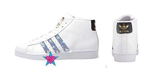 bf259b6090b6 Crystal Glitter Women Adidas Originals Pro Model. by eshays