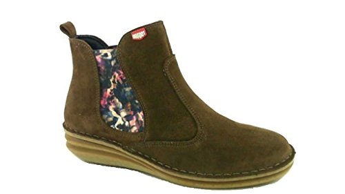 On Foot Shoes, Damen - Stiefelette, Bota Chelsy Braun