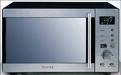 DAEWOO KOR2000 800W Touch & Dial Control Microwave with CRS: Amazon