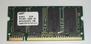 128mb Ddr 266mhz Pc - IFN PC2100S-25330 128MB DDR (266MHz) CL25 Memory