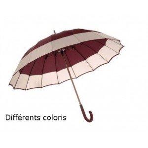 Paraguas bastón Luxe 16 ballena Poignee madera automático código 1738