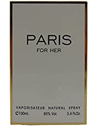 PARIS FOR GIRL,Our Version of CHANEL COCO MADEMOISELLE, Eau de Parfum Spray for Women, Perfect Gift, Elegant, Night time and Casual Use, for all Skin Types, 3.4 Fl Oz