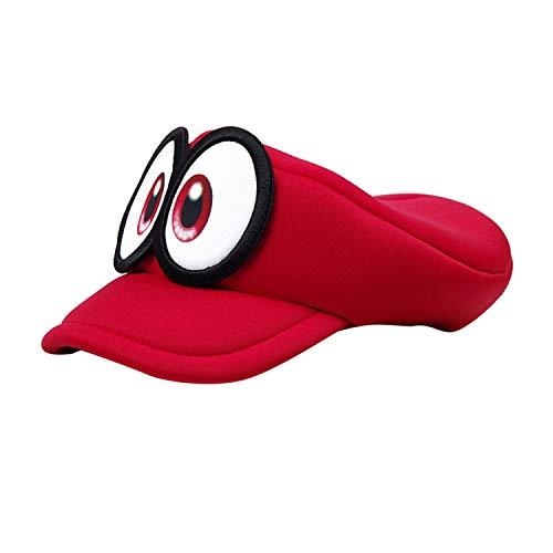 Anime Super Mario Odyssey Cappy Hats Bros Luigi Waluigi Wario Caps Sponge Soft Cosplay Costume for Adults Kids -