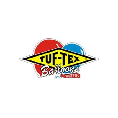 Tuftex 24 Inch Standard Assortment Latex Balloons (Premium Helium Quality) Pkg of 10: Toys & Games