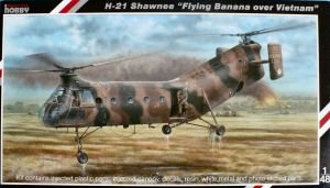 Special Hobby H21 Shawnee Flying Banana US Army Helicopter (1/48 Scale)