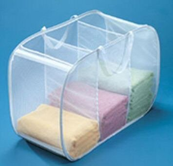 Deluxe Laundry Hamper - Deluxe Laundry Hamper - Pop Open Sorter Colors Vary