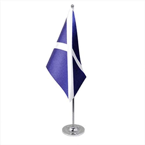 1000 Flags Tenerife - Bandera de Las Islas Canarias de España de satén y Cromo para Mesa de Oficina: Amazon.es: Jardín