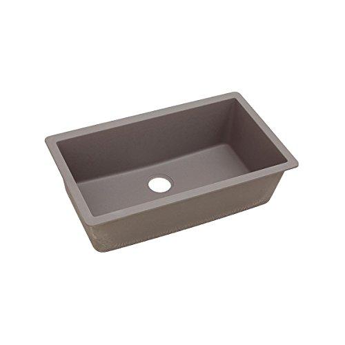 Elkay Quartz Classic ELGRU13322GR0 Greige Single Bowl Undermount Sink