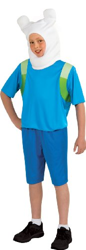 Adventure Time Child's Finn Costume, (Finn Adventure Time Halloween Costume)