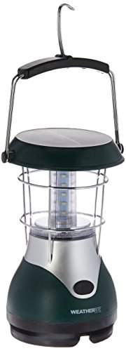Nebo WeatherRite 5959 Eco Lantern 24 Super Bright LEDs Solar Power or Wind Up Energy