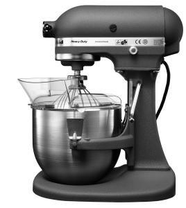 Amazon.de: KitchenAid Heavy Duty Küchenmaschine Grau (matt) Mit  Überlastungsschutz