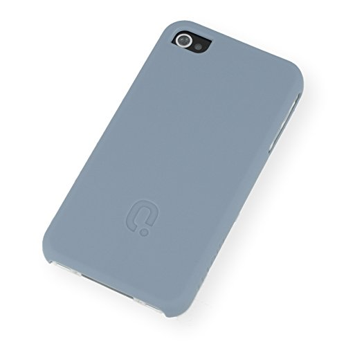 QIOTTI Q. à Curves snapcase pour iPhone 4/4S Motif vintage bleu
