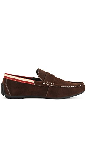 Reservoir Shoes Mocassins à Bout carré Homme Perm Marron MaAfCI6