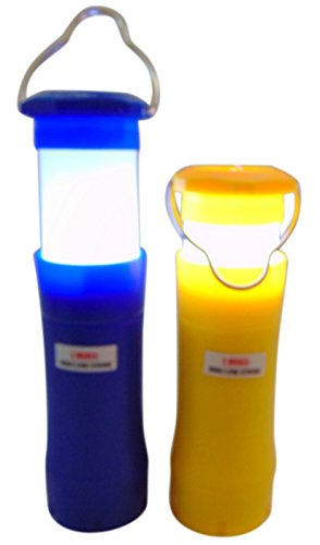LED Flashlight Mini Lantern 2 in 1 Personal Safety Torch, Set of 2