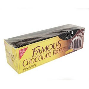 Nabisco, Famous Chocolate Wafers, 9oz Container (Pack of 4) by Nabisco
