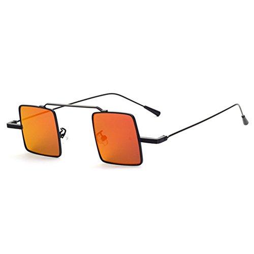 de sol Vintage Gafas MEIHAOWEI Hombre Square Mujer C1 Steampunk wqzYzB07v