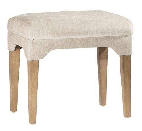 - Hillsdale Furniture 51032 Cady, Weathered Gray Driftwood Vanity Stool,