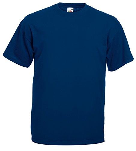 100 Fruit shirts XL Loom minimal L de 5 T Différents 3XL XL M couleurs coton Poids XL XL XL The S Of disponibles jeux blanc Bxxf7d