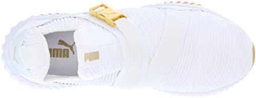 White Donna 1562 Mid Puma Defy metallic wOqUn7TRHx